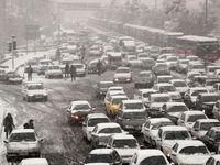 ترافیک در محورهای منتهی به شهر رشت سنگین است