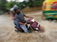 هند غرق در آب +تصاویر
