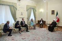 ایران آماده همکاری جامع با اتحادیه اروپا