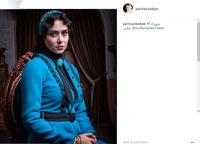 عکسی تازه از پریناز ایزدیار در فصل دوم «شهرزاد»