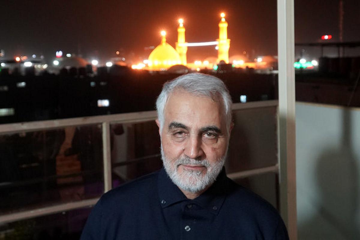 مراسم تشییع سردار قاسم سلیمانی در عراق