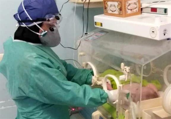 تولد نخستین نوزاد مبتلا به کرونای ایران و دنیا در مشهد