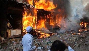انفجار بمب در لاهور پاکستان +فیلم