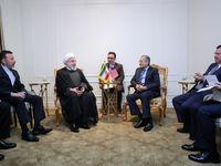 دیدار روحانی با نخست وزیر مالزی
