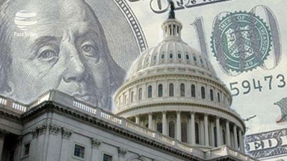 کسری بودجه آمریکا افزایش یافت