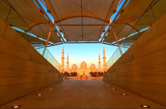 مسجد شیخ زاید در عکس روز نشنال جئوگرافیک