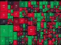نقشه بورس امروز بر اساس ارزش معاملات/ بازار همچنان فعالیتش را با شاخصهای سبز آغاز میکند