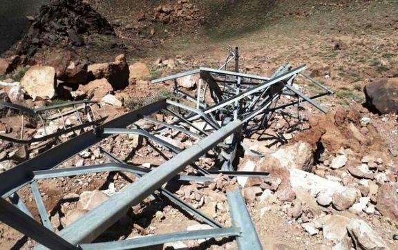 باد شدید خساراتی در گرگان بر جای گذاشت