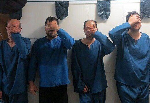 باند کلاهبرداران برنجی گیر افتادند