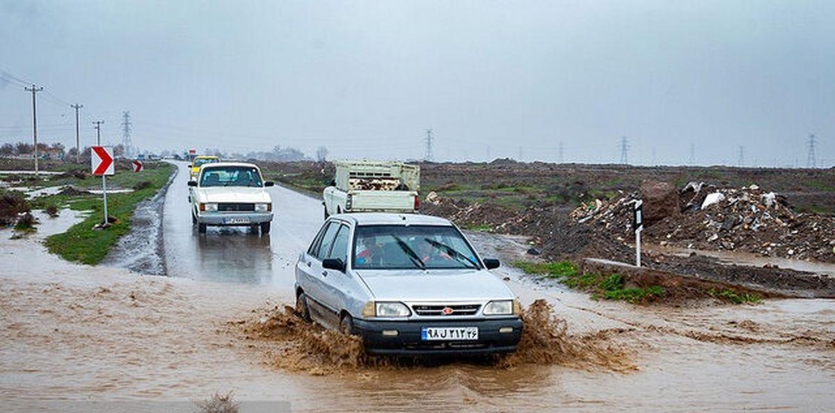 احتمال وقوع سیلاب و بالا آمدن آب رودخانهها