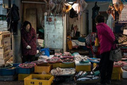 بازار سنتی شهر پیونگ چانگ +عکس