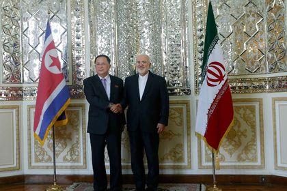 دیدار وزرای خارجه ایران و کره شمالی +تصاویر