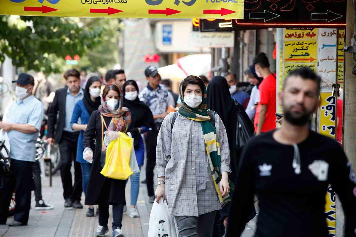 بیش از نیمی از فوتیهای روزانه کرونا مربوط به تهران است