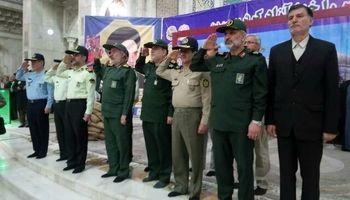 تجدید بیعت نیروهای مسلح با آرمانهای امام راحل +عکس