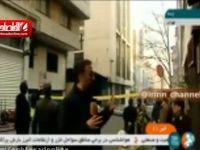 تخلیه کامل ساختمان آتش گرفته وزارت نیرو +فیلم