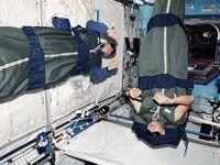 تمهیدات ناسا برای خواب فضانودران در فضا