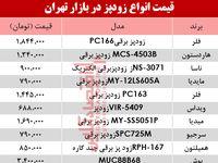 مظنه انواع زودپز دربازار تهران چند؟ +جدول