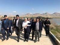 بازدید رییس هیأت مدیره بانک توسعه تعاون از چند طرح اقتصادی استان کرمانشاه