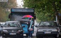 بارش باران حال و هوای تهران را عوض کرد +تصاویر