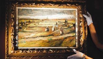 فروش ۸میلیون دلاری نقاشی ونگوگ
