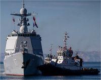 رزمایش مشترک دریایی ایران، روسیه و چین +تصاویر
