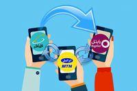 عملکرد اپراتورهای تلفن همراه در نیمه اول امسال