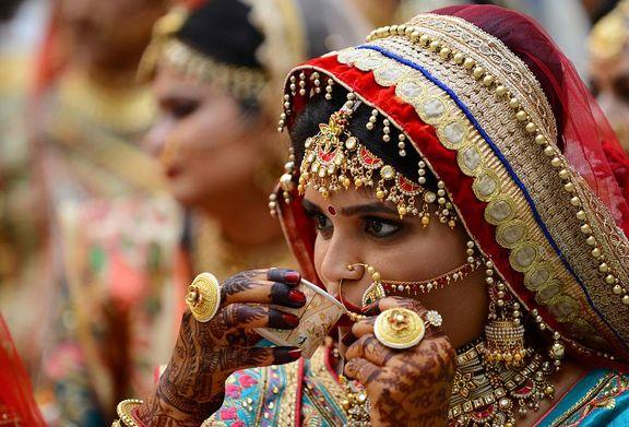 جشن عروسی دختران یتیم +عکس
