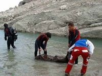 کشف جسد مردی از رودخانهای در همدان