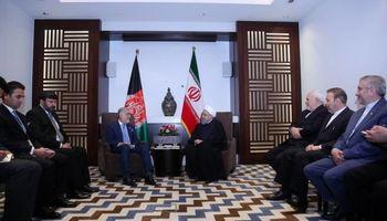 روحانی: ایران خواهان ثبات، امنیت و توسعه افغانستان است/ تاکید بر توسعه روابط اقتصادی با استفاده از همه ظرفیتهای موجود