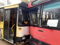 جزئیات تازه از تصادف اتوبوسهای دانشجویان +عکس