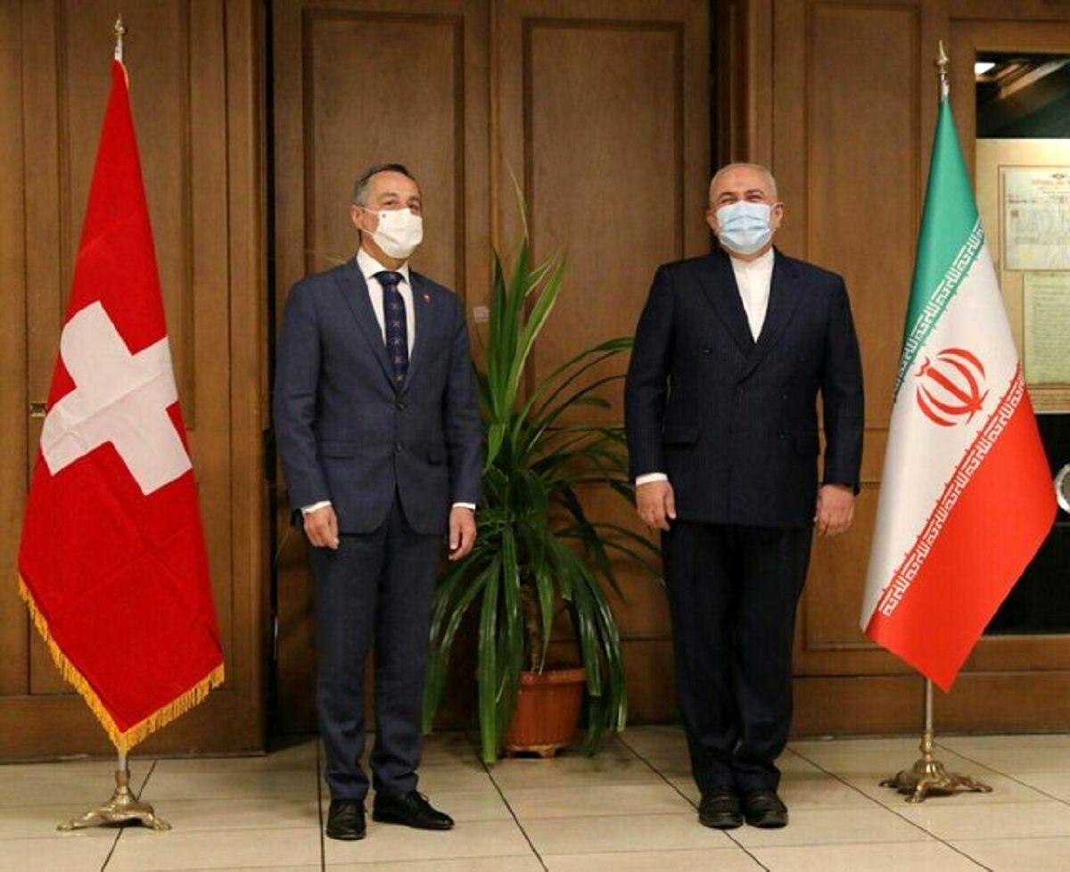 دیدار وزیر خارجه سوییس با ظریف در دور اول گفتوگوها