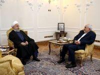دیدار نوروزی رئیس جمهور با وزیر امور خارجه