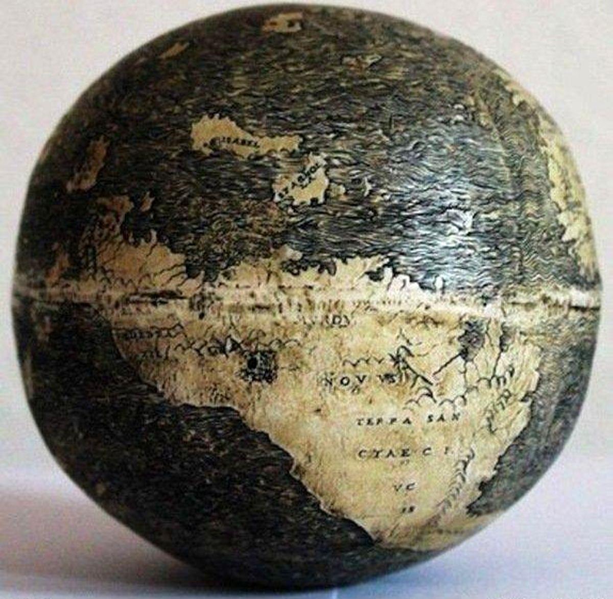 قدیمی ترین کره جغرافیایی را دیده اید؟ + عکس