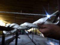 قدیمیترین کارخانه ابریشم در کشمیر بازگشایی شد +تصاویر
