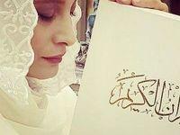 بازیگر معروف در مراسم ازدواجش با دیپلمات معروف +عکس