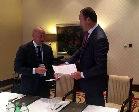 روسیه و اوکراین قرارداد دهساله ترانزیت نفت امضا کردند