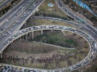 ترافیک تهران در آخرین روزهای سال +تصاویر