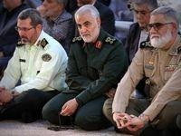 سردار سلیمانی در مرقد امام راحل +عکس