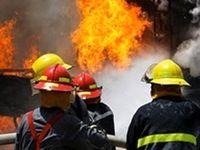 حریق کارخانه گوگرد در جاده مشهد ـ فریمان مهار شد