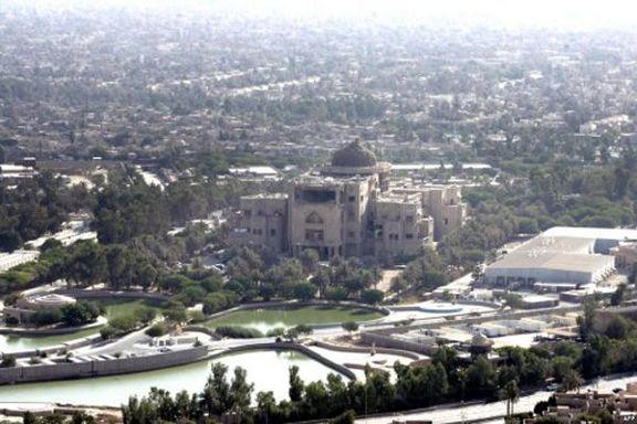 پرواز بالگردهای آمریکایی بر فراز منطقه سبز و فرودگاه بغداد