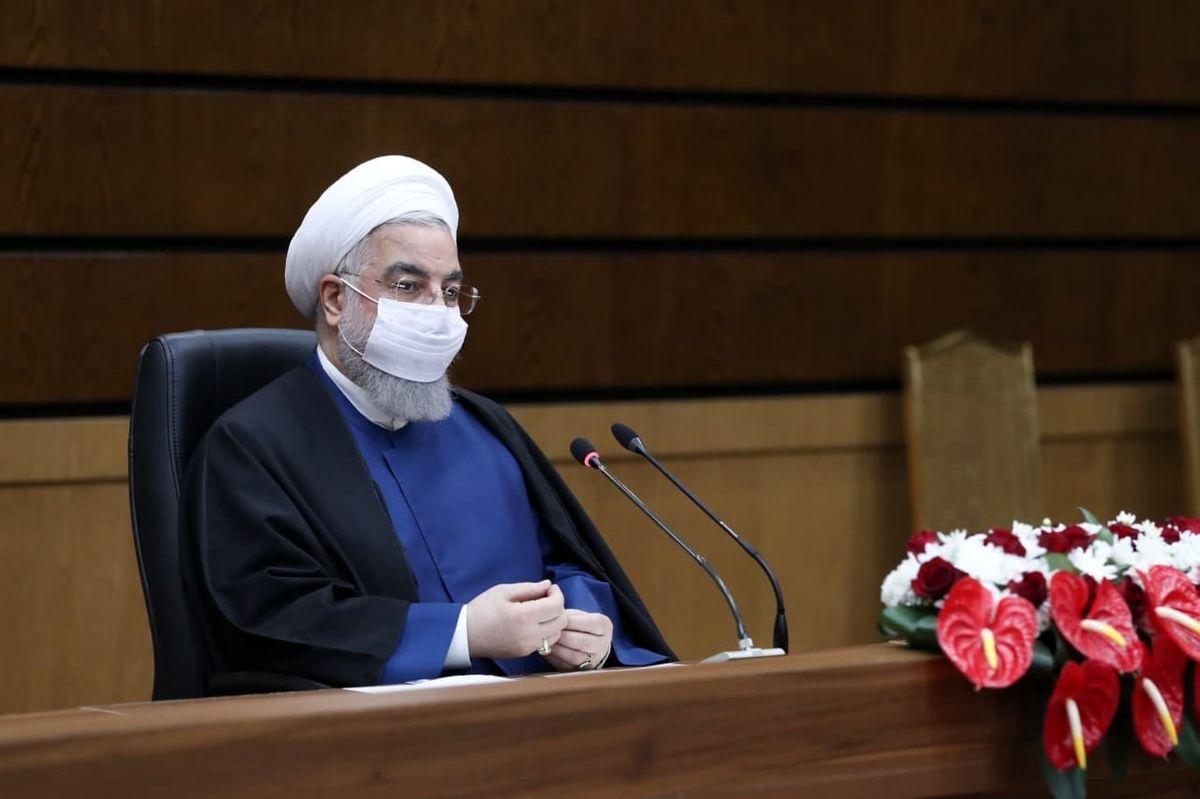 روحانی:پیک کرونا تمام شده است
