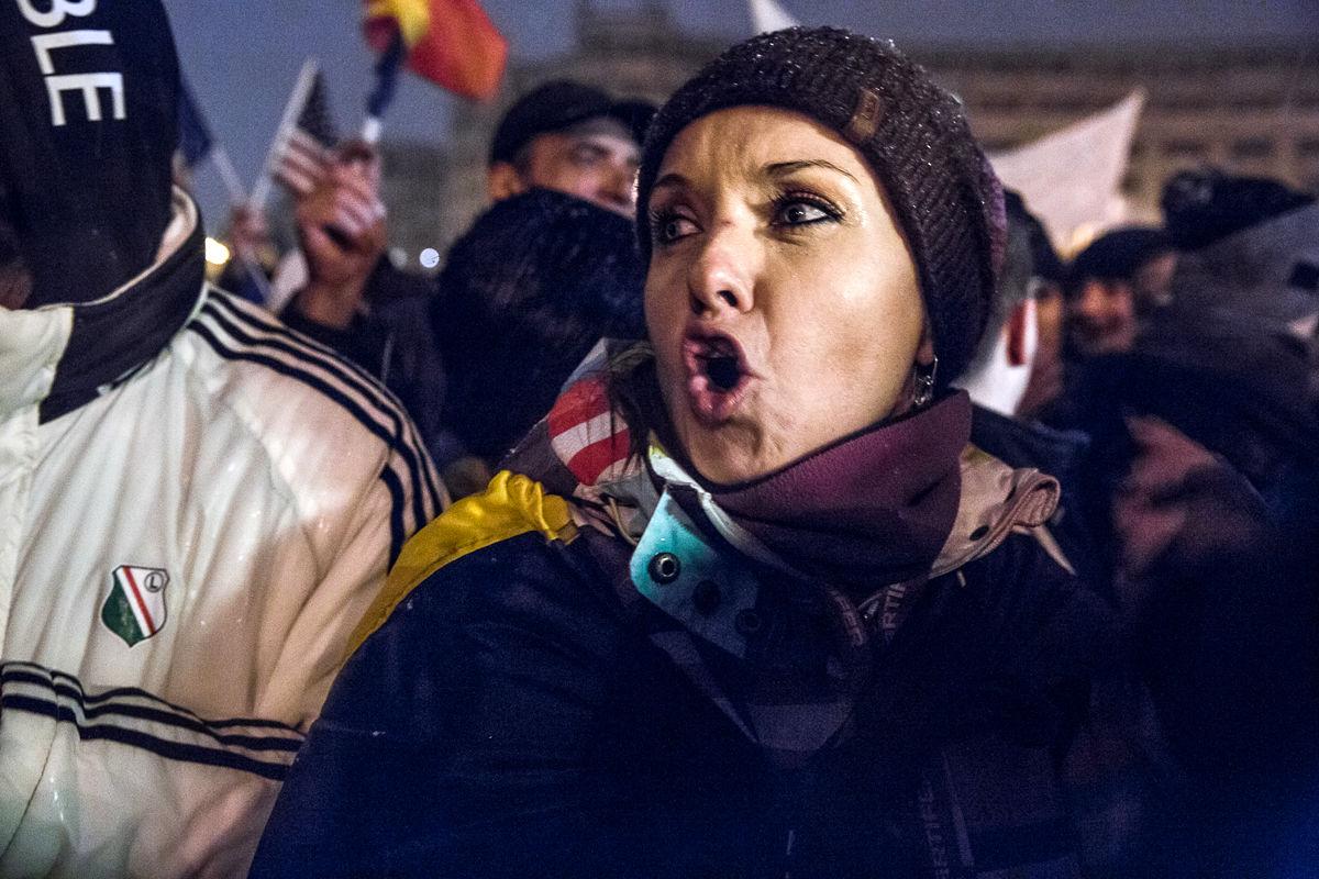 تظاهرات علیه فساد دولتی در رومانی