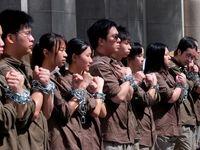 تظاهرات معترضان هنگ کنگی علیه چین +تصاویر