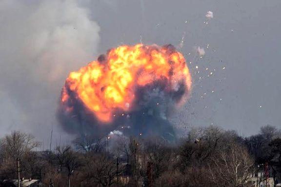 حمله موشکی به سفارت آمریکا در عراق +عکس