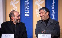 ژستهای پژمان جمشیدی در جشنواره فیلم فجر +تصاویر