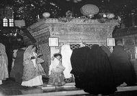 ۹۰سال قبل؛ ضریح مطهر حضرت شاهچراغ(ع) +عکس