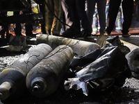 کپسولهای اکسیژن منفجر شده در خیابان شریعتی +عکس