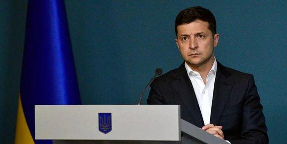 استقبال زلنسکی از بیانیه ایران در مورد هواپیمای اوکراینی