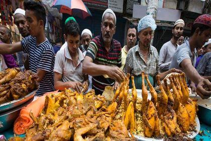 بازار خوراکیهای اندونزی برای ماه رمضان +عکس