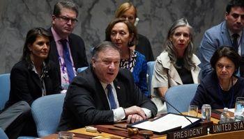 پمپئو در نشست شورای امنیت درباره ایران شرکت میکند